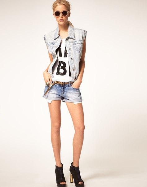 Женская джинсовая жилетка купить. джинсовая жилетка женская купить